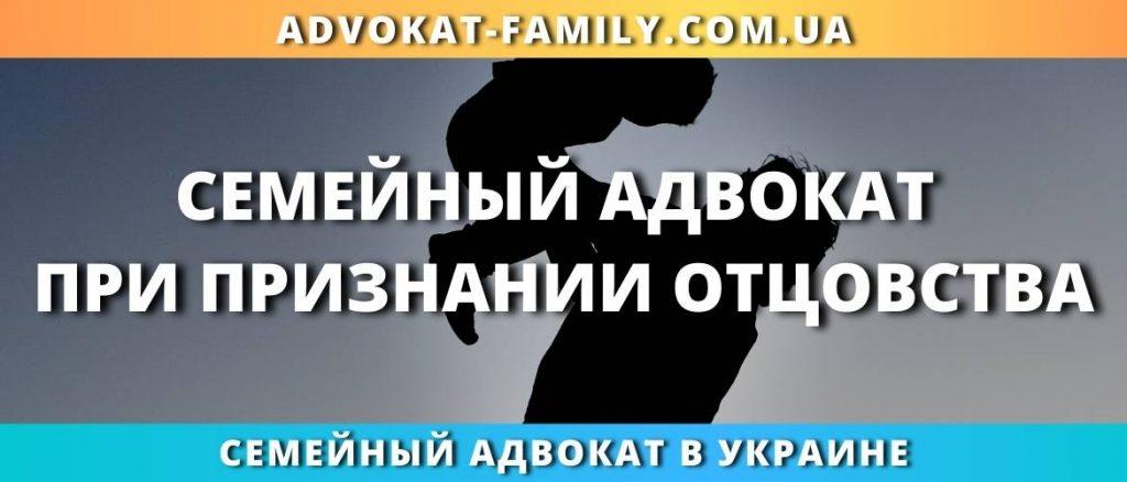 Семейный адвокат при признании отцовства